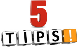 Five Tips for Entrepreneurs