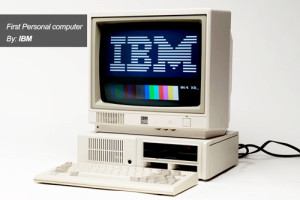 First Personal computer By: IBM in Florida